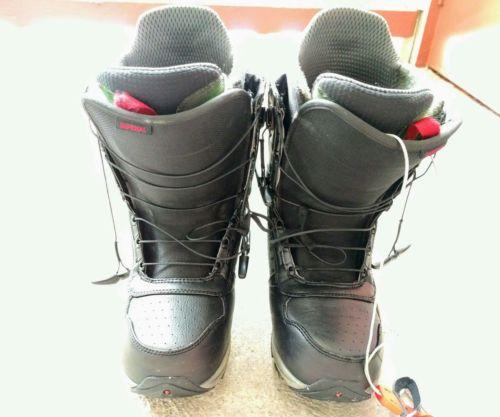 Burton imperial snowboard boots, men's 9.5