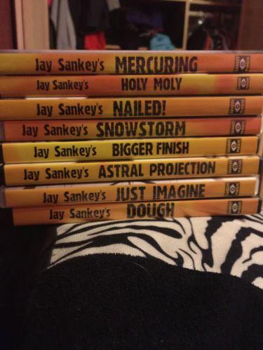Jay Sankey Classics Lot (8 DVDS!)