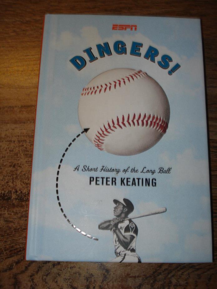 ESPN TV DINGERS ! MLB Baseball BOOK Homers HOME RUNS History ! Peter Keating SEE
