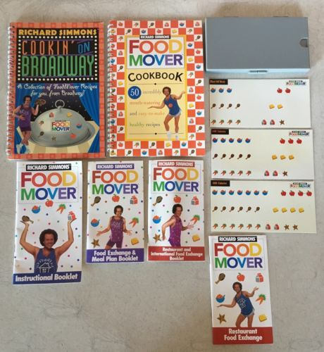 Richard Simmons Food Mover Weight Loss Diet Set Program