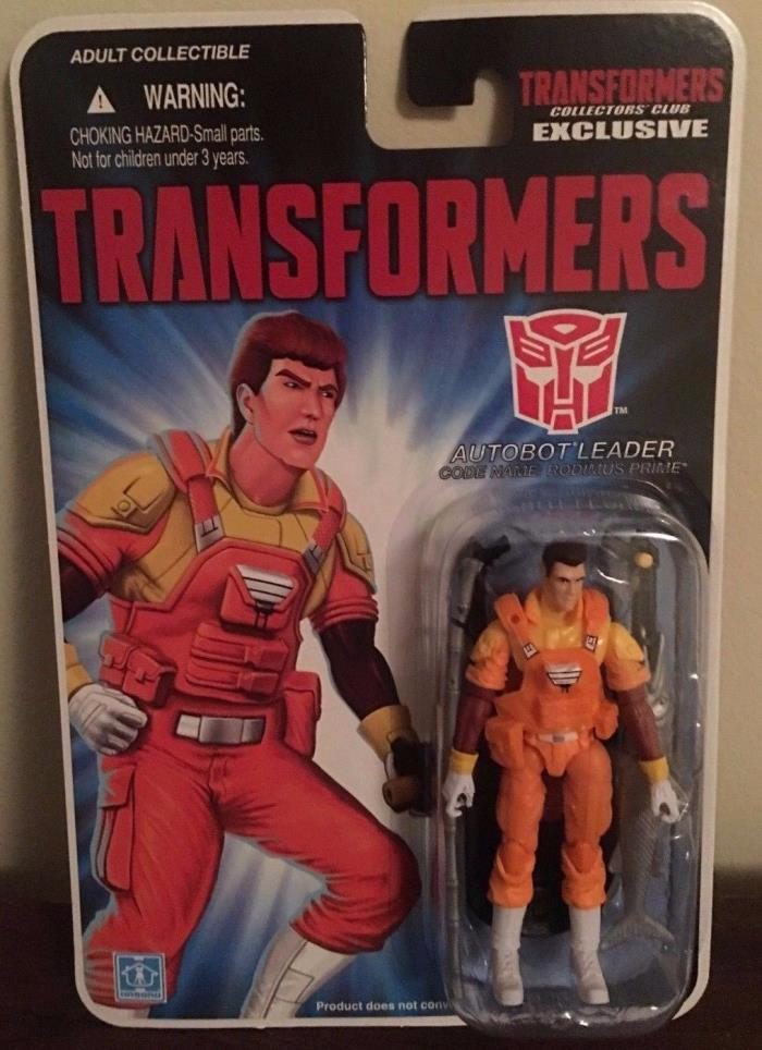 Transformers Club Exclusive Gi Joe Autobot Leader Rodimus Prime Moc