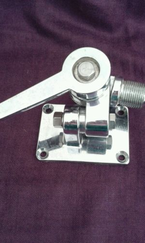 Stainless Steel Ratchet Mount for Marine Boat Antenna