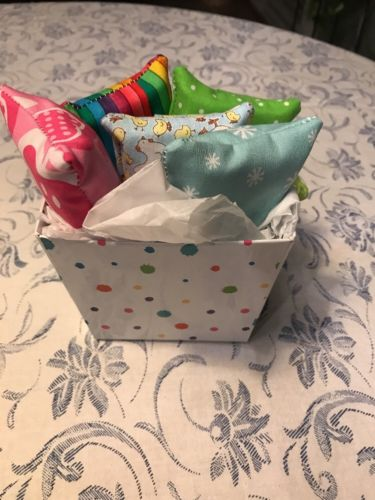 5 Handmade Purse SZ Tissue Holders With Gift Box /,pocket,diva/tote/kleenex