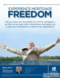 Experience mortgage freedom