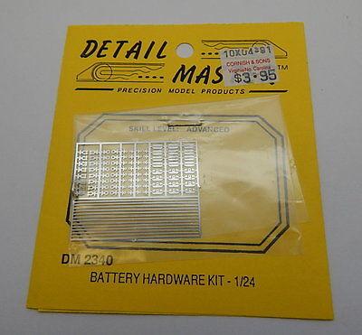 Detail Master DM 2340 Battery Hardware Kit 1/24 R13088