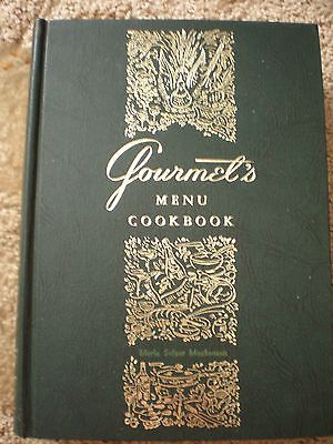 Vintage Gourmet's  Cookbooks Menu,French and Basic