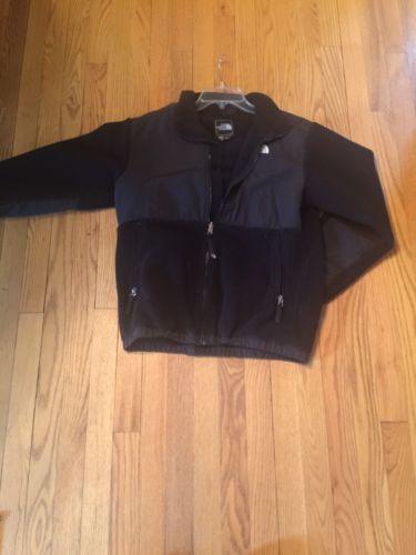 north face fleece for boys black- Denali series youth XL