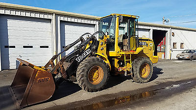 1997 John Deere TC44H  Wheel Loader Tool Carrier