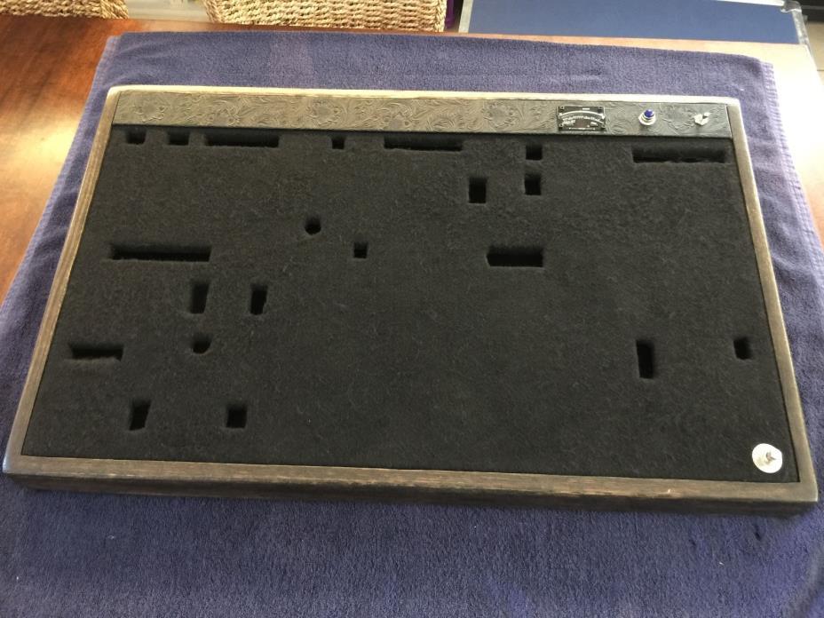 Custom Guitar Pedalboard with Custom Case