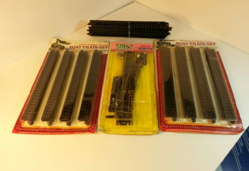 Vintage  mini train track set.