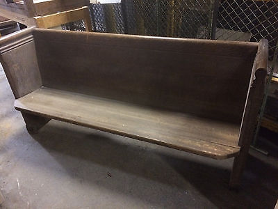 Antique Oak Church Pew Benche 1 Short pew available 72