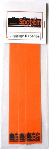 Spot-Em Luggage Identification Strips (Orange)