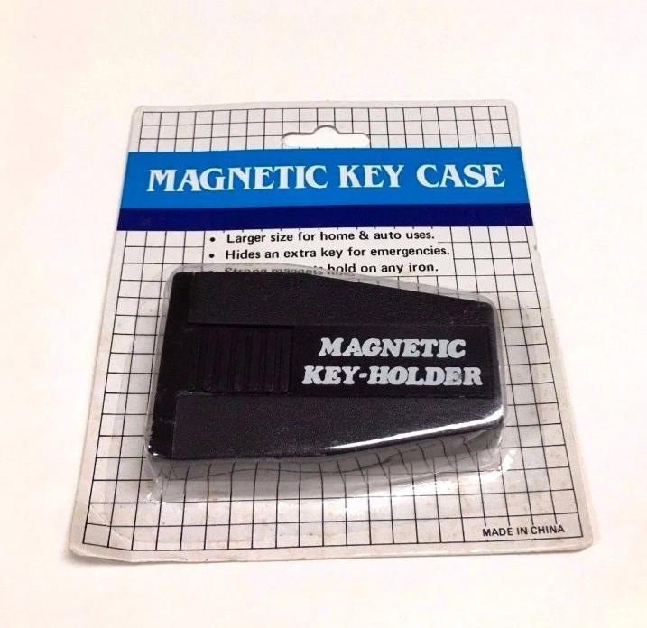 3PCS STRONG MAGNETIC HIDE A KEY BLACK - NEVERLOCKEDOUT SPARE KEY KH-234