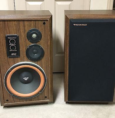 CERWIN VEGA AT-12 speaker system AT12 AT 12 AT - 12