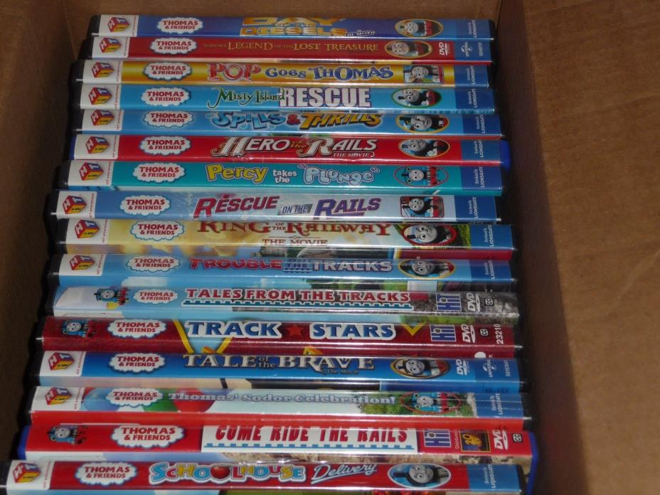 Thomas the Train DVD    *collection of previously owed 16 DVDS*