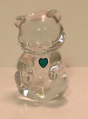 Fenton Birthday Bear Figurine - May