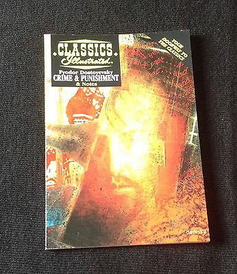 CLASSICS ILLUSTRATED Crime & Punishment Fyodor Dostoyevsky ACCLAIM BOOKS DIGEST