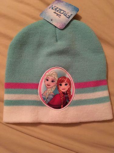 New Frozen Anna Else Knit Beanie Cap Hat Girls Free Shipping