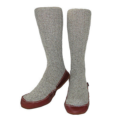 New Acorn Men's Wool Sock Slippers