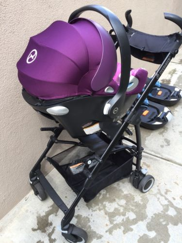 Cybex Aton Q Car Seat with TWO bases PLUS a Maxi-Cosi Maxi-Taxi stroller