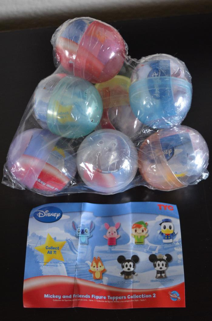Disney TYC Figure Topper Entire Collection 2 Set - Mickey and Friends