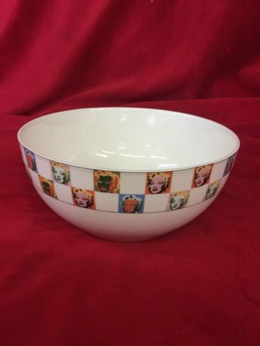 Andy Warhol Marilyn Monroe Large Serving Bowl by Block China