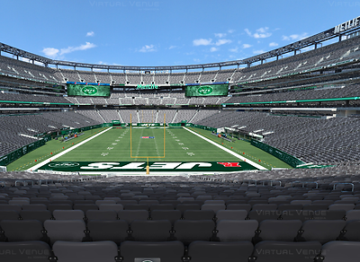 New York Jets 2017 Season Tickets Package W/Parking Passes, 10 Games