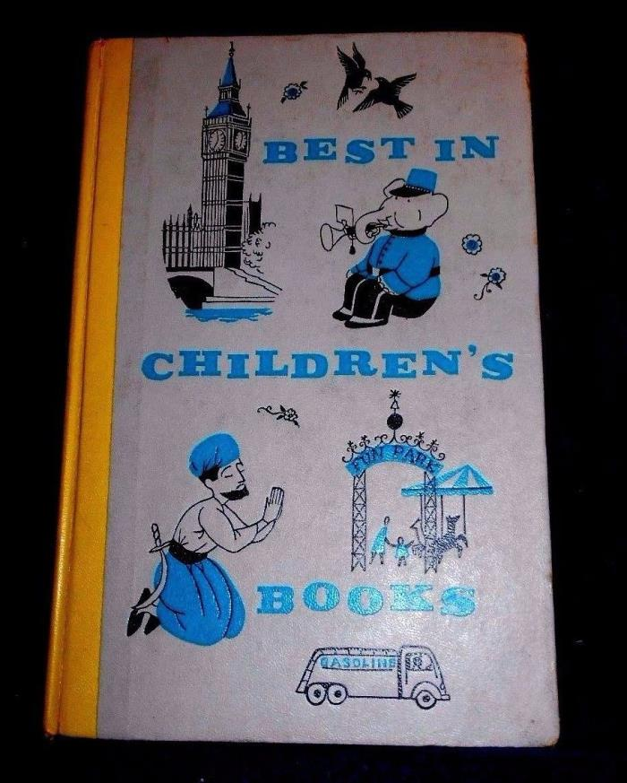 Vintage The Best in Children's books #5  Nelson Doubleday 1957