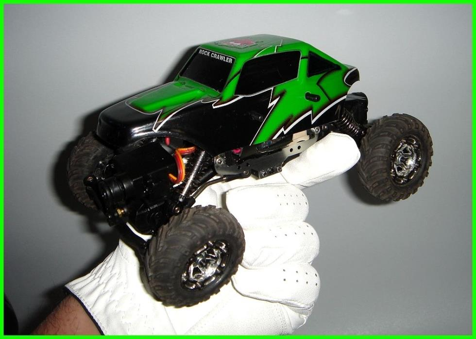 LIPO Modified 1/24 Scale SUMO Rock Crawler 4x4 AWS by Redcat Racing!