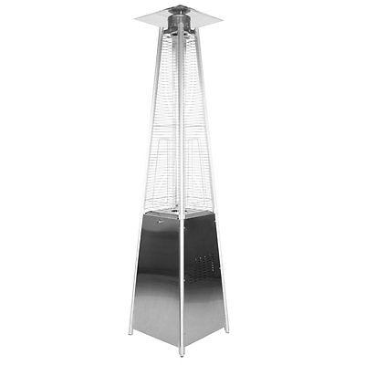 Garden Radiance Garden Sun Stainless Steel Pyramid Propane Patio Heater