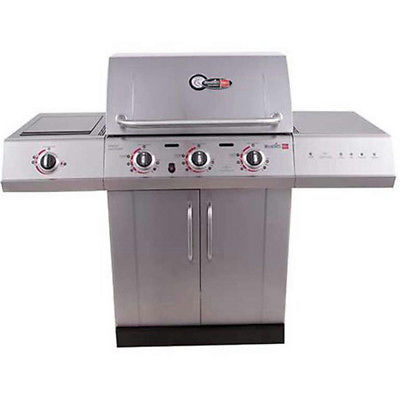 PALLET SHIPPING Char-Broil Gourmet 3-Burner TRU-Infrared Propane Gas Grill