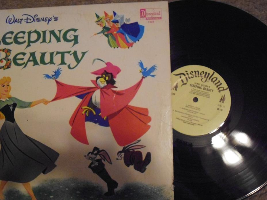 Disneyland Record Disney Sleeping Beauty LP Album Original Soundtrack