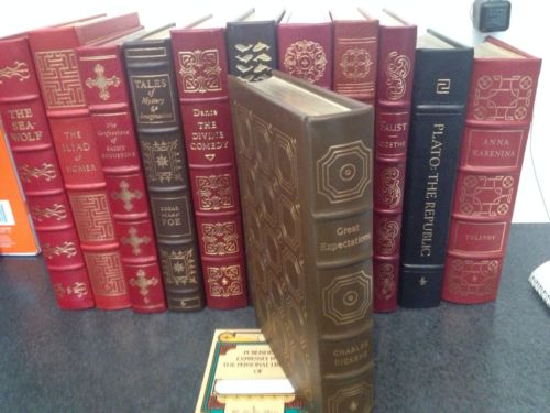 Charles Dickens Great Expectations  - EASTON PRESS- Collector's Edition- Leather