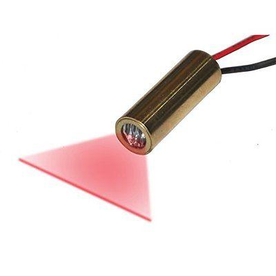 Diode Lasers Quarton Laser Module VLM-650-28 LPT Red Laser Line Generator LINE