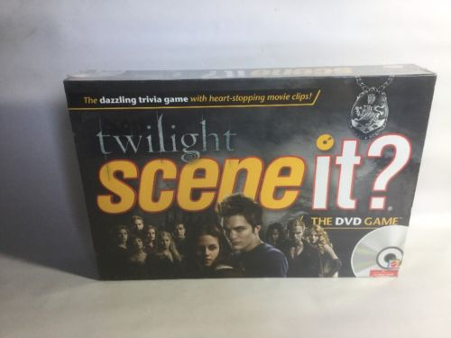 TWILIGHT SAGA SCENE IT DVD TRIVIA BOARD GAME NEW IN PACKAGE FACTORY SEALED!!!
