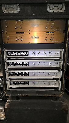 Monitor Rack CROWN MACRO TECH 24X6, EAW MX200I