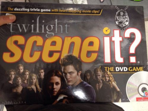 NEW!!! - Scene It? Twilight Trivia DVD Board Game - TWILIGHT with DVD