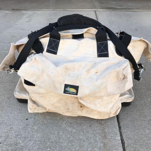 Weaver Leather Arborist Doctor Style Canvas Lineman Tool Bag