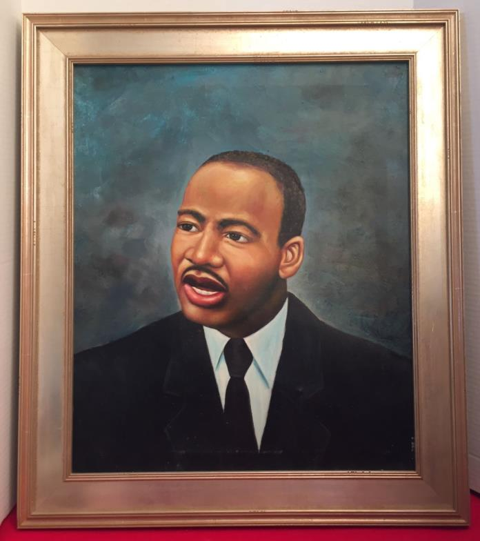 Rare Historic Portrait MLK Rev. Dr. Martin Luther King, Slavery Connection