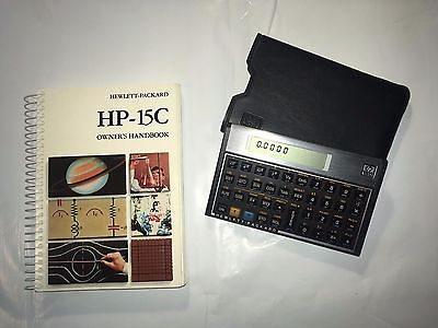 Hewlett Packard HP 15C Scientific Calculator