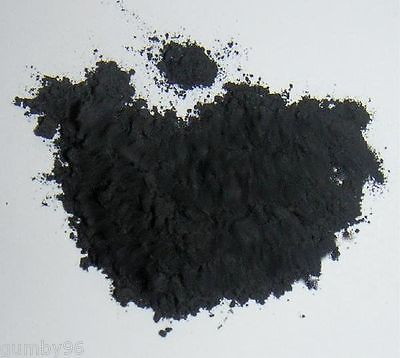 IRON OXIDE BLACK 1 Pound Lab Chemical (Fe3)O4 Ceramic Thermite Welding Magnetite