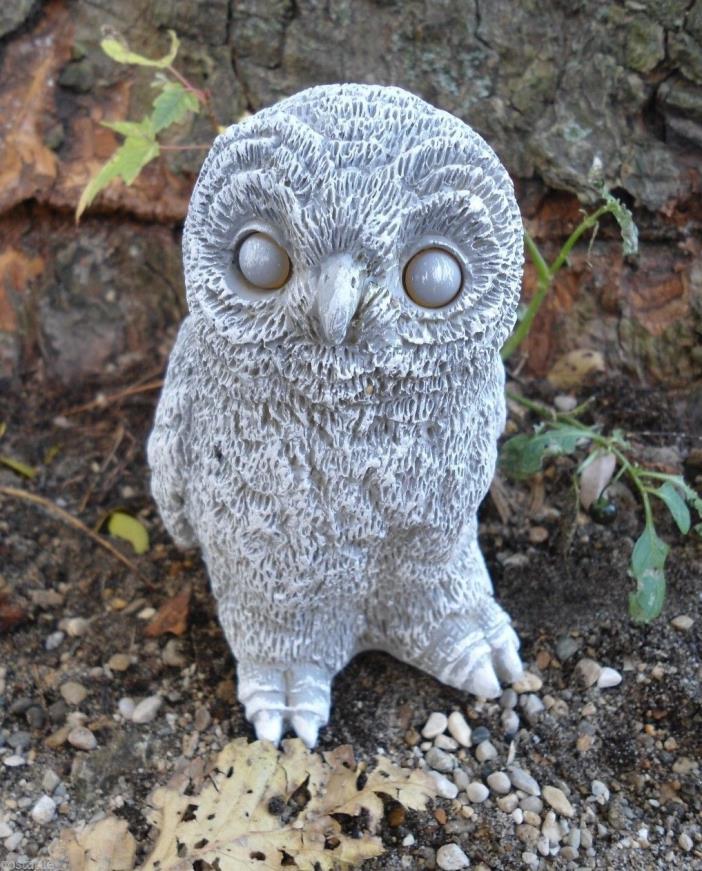 Gostatue MOLD owl latex w plastic backup mold plaster mold concrete mold