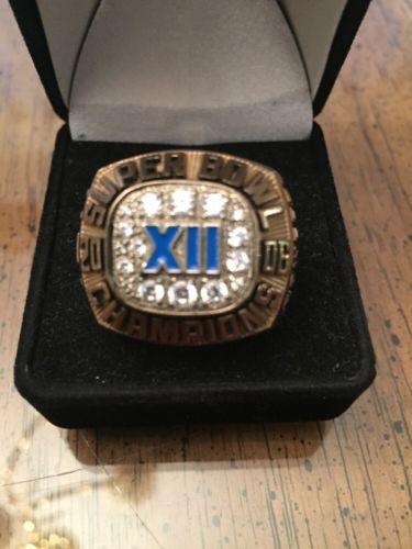 Balfour UFL Connecticut Giants Super Bowl Ring,Balfour Championship Ring