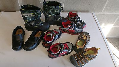 toddler shoe set . size 9. boys . 5 pairs.