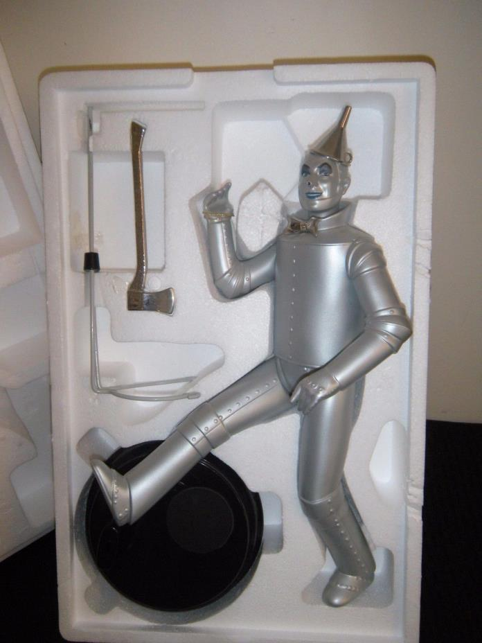 TIMELESS TREASURES  WIZARD OF OZ   PORCELAIN DOLL  TIN MAN  IN ORIGINAL BOX