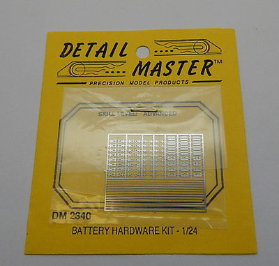 Detail Master DM 2340 Battery Hardware Kit 1/24 R13089