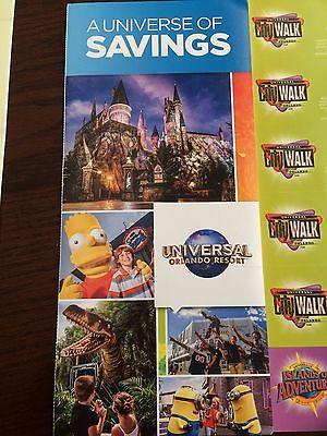 Universal Studios Orlando Savings Book coupon IOA City Walk Hard Rock Cabana Bay