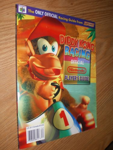 1997 Official Diddy Kong Players Guide Nintendo Power