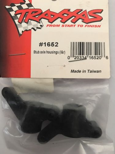 New Traxxas Vintage Rare Stub Axle Housing Left And Right TRX1652 TRA1652