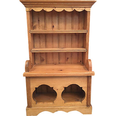 Vintage Miniature Irish Pine Dresser - Salesman's Sample / Doll Furniture
